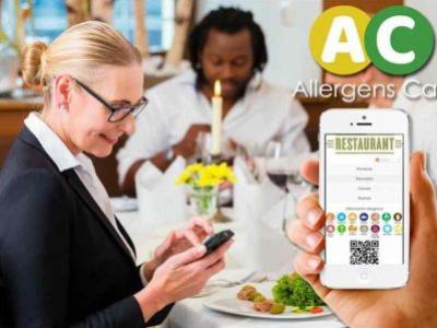 Carta de alérgenos en el dispositivo del cliente Allergens Cart ¡PREMIUM! mensual