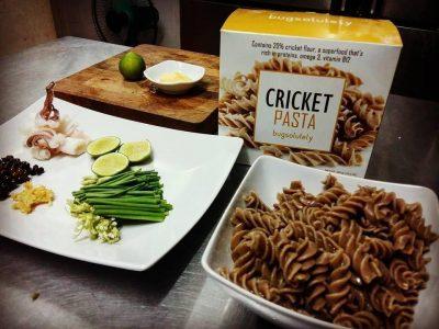 Bugsolutely - Cricket pasta