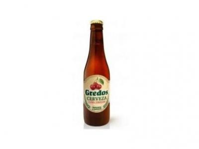 Cerveza Gredos con cereza