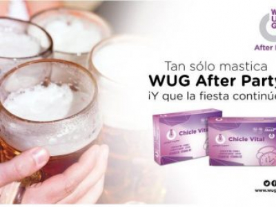 Chicle antiresaca WUG After Party